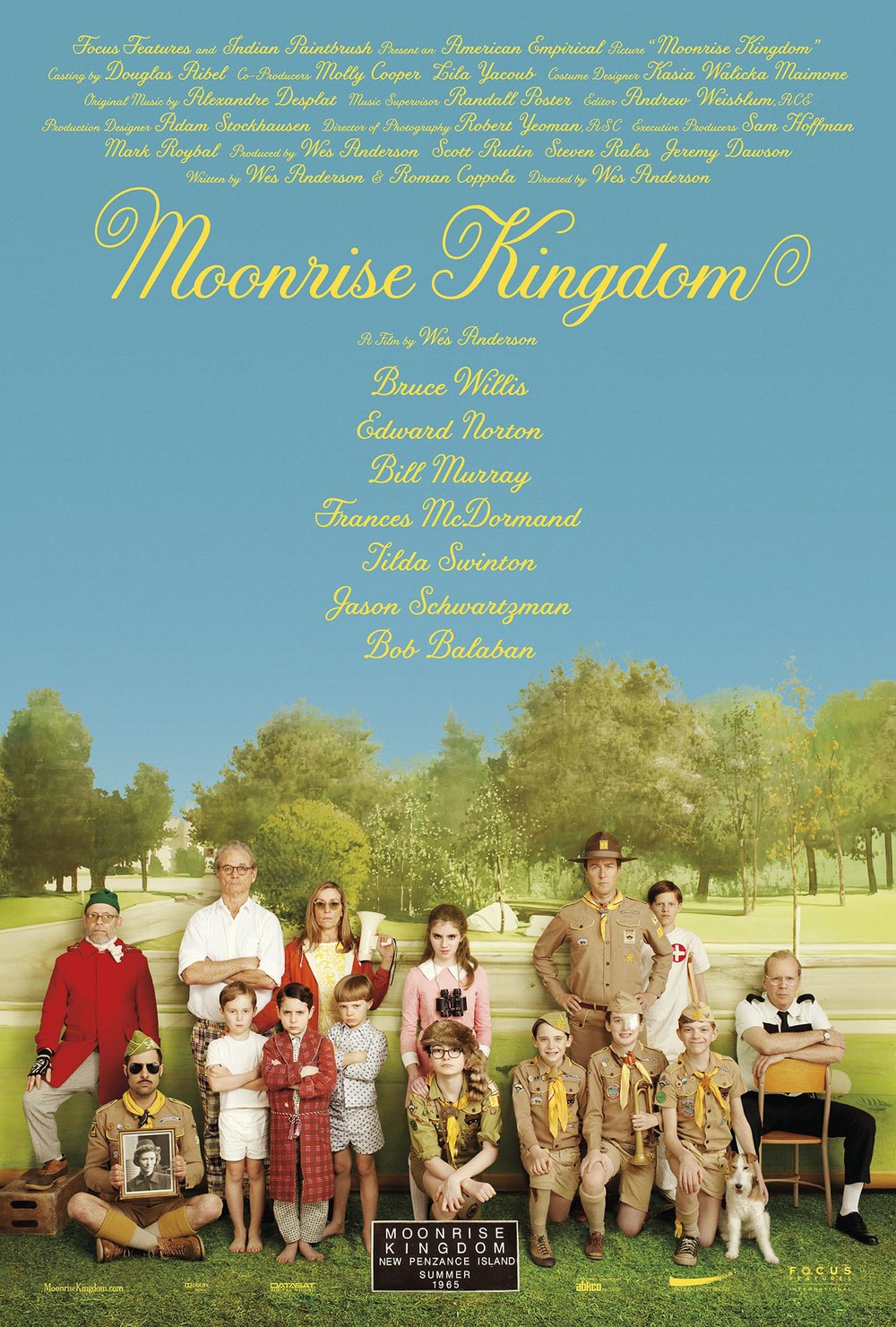 Omslag till filmen: Moonrise Kingdom
